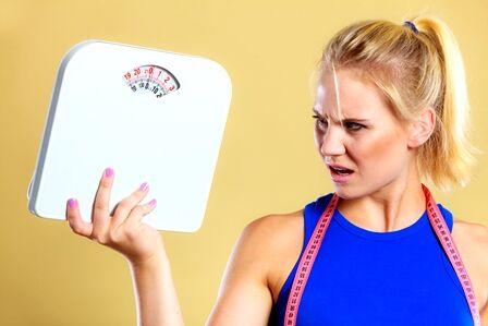 zsírvesztés, de súlygyarapodás
