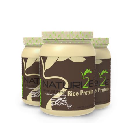 3 db (90 adag) FAHÉJAS FEKETE CSOKI ízű Naturize 80% barnarizs-fehérjepor INGYENES SZÁLLÍTÁSSAL - 1480 Ft megtakarítás!