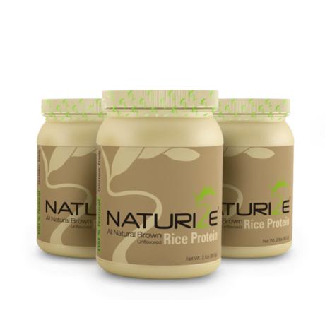 3db (81 adag) NATÚR Naturize 85% barnarizs-fehérjepor, INGYENES SZÁLLÍTÁSSAL - 1980 Ft megtakarítás!