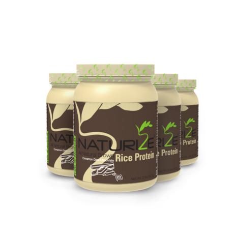 4 db (120 adag) FAHÉJAS FEKETE CSOKI ízű Naturize 80% barnarizs-fehérjepor INGYENES SZÁLLÍTÁSSAL - 2970 Ft megtakarítás!