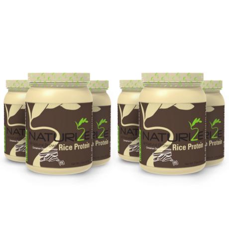 5 db FAHÉJAS FEKETE CSOKI ízű Naturize 80% barnarizs-fehérjepor esetén +1 db INGYEN (6x907g) + INGYENES SZÁLLÍTÁS - 8490 Ft megtakarítás!