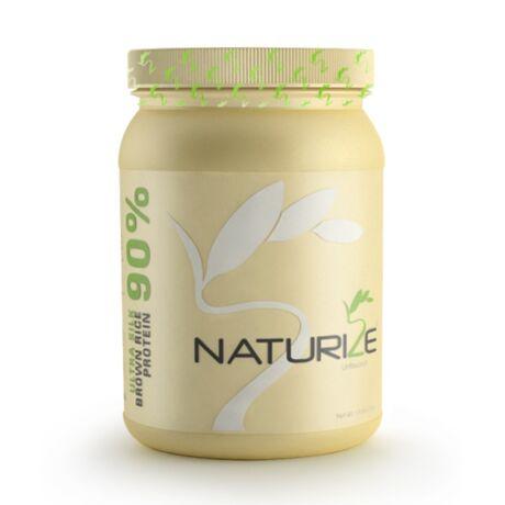 NATÚR Naturize ULTRA SILK 2.0 (90% fehérje) barnarizs-fehérjepor - selymesebb ízvilág (1 doboz)