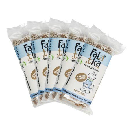 5 db Falatka MINI (40g) fehérjeszelet - KÓKUSZOS (5*40g)