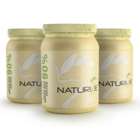 3db (78 adag) NATÚR Naturize ULTRA SILK 2.0 (90%) barnarizs-fehérjepor, INGYENES SZÁLLÍTÁSSAL - 1980 Ft megtakarítás!