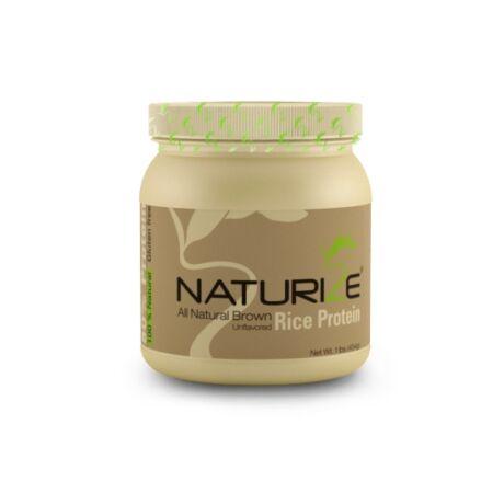 NATÚR Naturize 85% barnarizs-fehérjepor kis kiszerelés (454g, enyhén pörköltes íz, 15 adag)