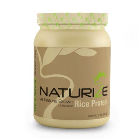 NATÚR Naturize (85% fehérje) barnarizs-fehérjepor  - finomabb ízvilág (1 doboz)!