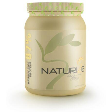 VANÍLIÁS Naturize ULTRA SILK 2.0 (87% fehérje) barnarizs-fehérjepor - valódi vaníliával (1 doboz)