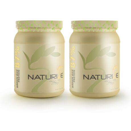 2db (52 adag) VANÍLIÁS Naturize ULTRA SILK 2.0 (87%) barnarizs-fehérjepor, 990 Ft megtakarítás!