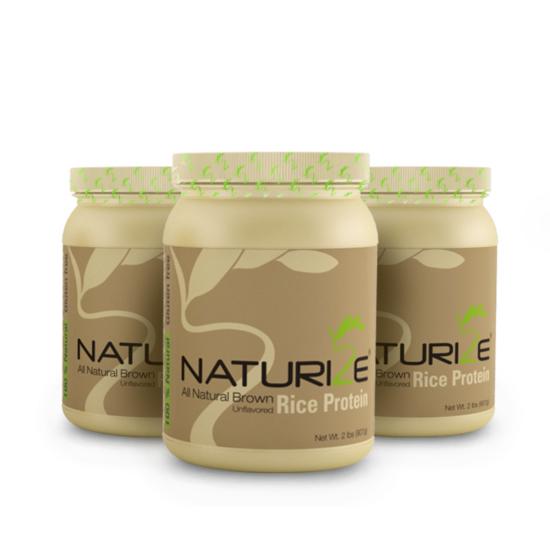 3 db (2721g) NATÚR Naturize 85% barnarizs-fehérjepor, INGYENES SZÁLLÍTÁSSAL - 1980 Ft megtakarítás!
