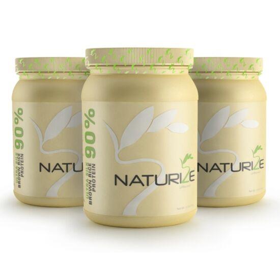 3 db (2448g) NATÚR Naturize ULTRA SILK 90% barnarizs-fehérjepor, INGYENES SZÁLLÍTÁSSAL - 1980 Ft megtakarítás!