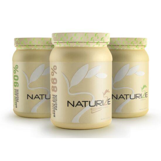 2db natúr, 1db fahéjas Naturize ULTRA SILK barnarizs-fehérje (INGYENES SZÁLLÍTÁSSAL!) - VEGYES CSOMAG
