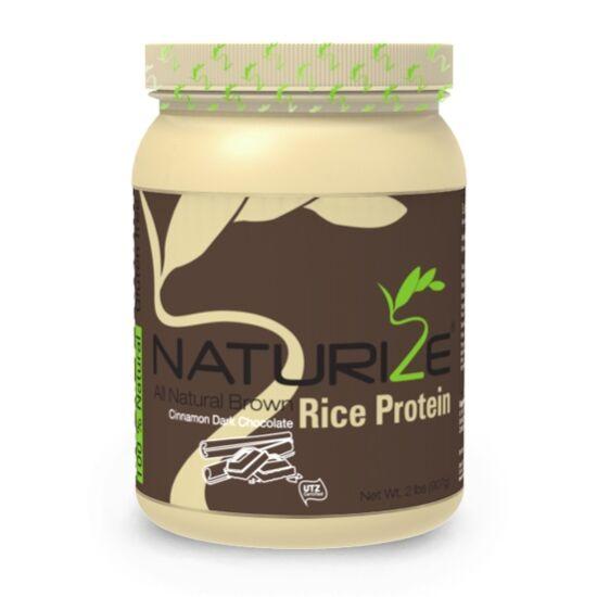 FAHÉJAS FEKETE CSOKI ízű Naturize 80% barnarizs-fehérjepor (907g)